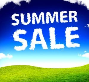 Summer sale clouds